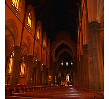 The Main Altar, St Patrick's Cathedral, Melbourne Vic Aust. Photographic Print