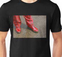 Red Shoes, Plaid Trews Unisex T-Shirt