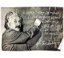 Einstein The Music Lover Poster