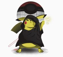 Join The Dark Side With Darth Pika Kids Tee