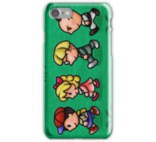 Earthbound Guys iPhone Case/Skin