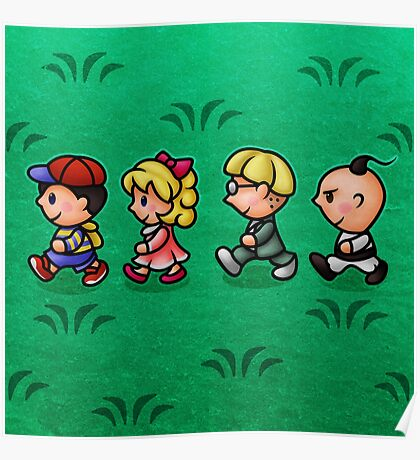 Earthbound Guys Poster