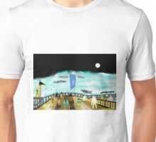 Watching Whales Unisex T-Shirt