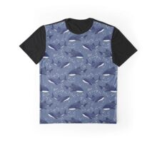 Starry Whale Sharks (Dark version) Graphic T-Shirt
