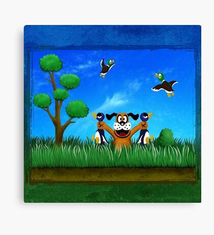 Duck Hunt! Canvas Print