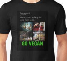 Animal Holocaust/Go Vegan Unisex T-Shirt