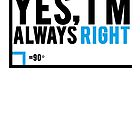 Yes, I'm Always Right by Alan Craker