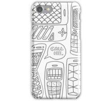 Call Me <3 iPhone Case/Skin