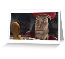 Lord Farquaad Greeting Card