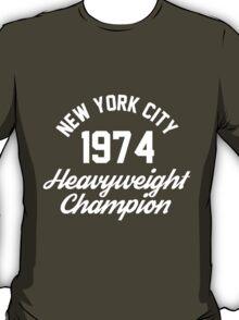 New York City 1974 Heavyweight Champion T-Shirt