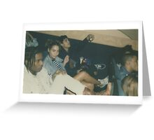 ASAP Rocky, GUESS Photoshoot Greeting Card