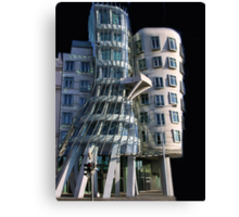 *•.¸♥♥¸.•*The Dancing House Prague*•.¸♥♥¸.•* Canvas Print