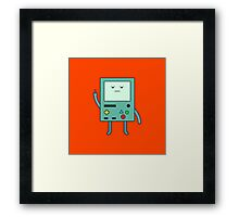 Bad Mood BMO Framed Print