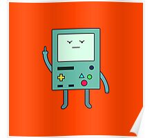 Bad Mood BMO Poster