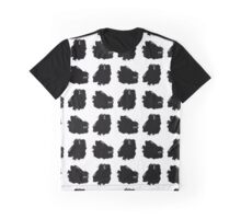 Hand drawn ink brush strokes. Graphic T-Shirt