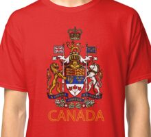 Coat of Arms of Canada Classic T-Shirt