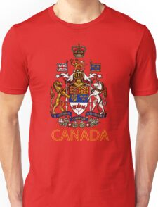 Coat of Arms of Canada Unisex T-Shirt
