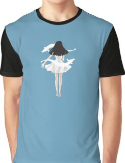 A black haired girl Graphic T-Shirt