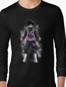 Goku Black Powering up Long Sleeve T-Shirt