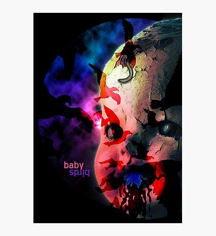 Baby Birds Photographic Print
