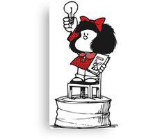 Mafalda Freedom Canvas Print