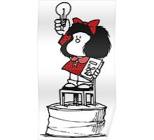 Mafalda Freedom Poster