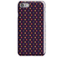 Funny raindrops iPhone Case/Skin