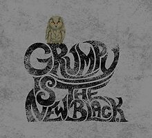Grumpy is.... (+ Owl) by . VectorInk