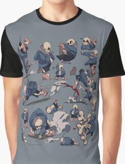 Sans - Undertale Graphic T-Shirt