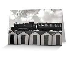Goodrington Steam Train Greeting Card