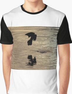 Bird Silhouette Graphic T-Shirt