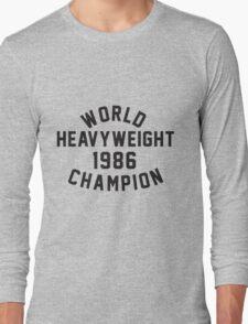 World Heavyweight 1986 Champion Long Sleeve T-Shirt