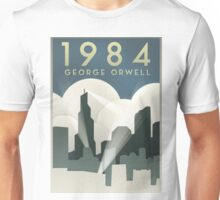 George Orwell - 1984, Art Deco Poster Unisex T-Shirt
