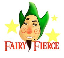 Fairy Fierce Photographic Print