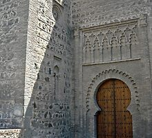 Toledo - Old Church Door by Michelle Falcony