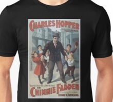 Performing Arts Posters Charles Hopper in Chimmie Fadden by the author of the book Edward W Townsend 0774 Unisex T-Shirt