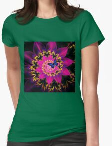 Melody of Time Womens Fitted T-Shirt