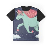 Unicorn is jumping Graphic T-Shirt