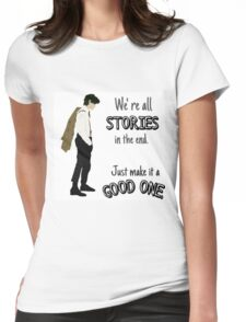 Doctor- Stories Womens Fitted T-Shirt
