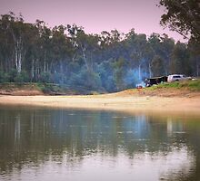 Weekend Camping by Lozzar Landscape