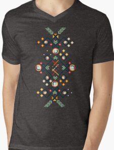 Back to the Roots Mens V-Neck T-Shirt