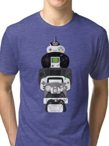 video games controllers Tri-blend T-Shirt