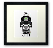 video games controllers Framed Print