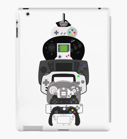 video games controllers iPad Case/Skin