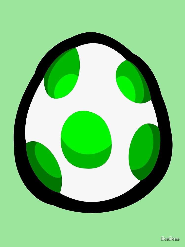 Yoshi Egg by likelikes