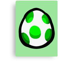 Yoshi Egg Canvas Print