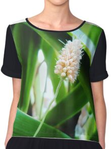 earth laughs in flowers! Chiffon Top