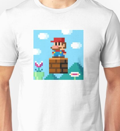 pixel World Unisex T-Shirt