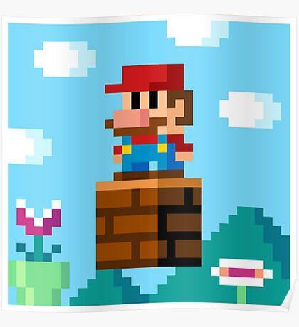 pixel World Poster