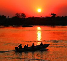 Zambezi Sunset by jozi1